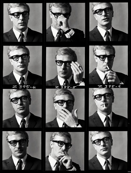 michael caine and his spectacles